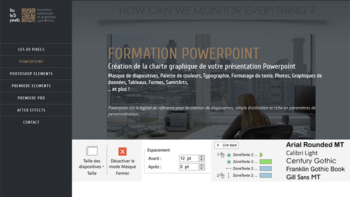 Formation Powerpoint Lyon Paris